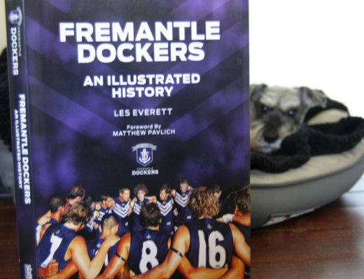 I like reading Fremantle Dockers An Illustrated History in bed.